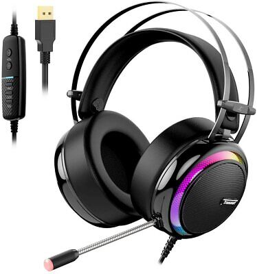 AURICULARES GAMING LED - TRONSMART GLARY - CON MICRO - CON CABLE...