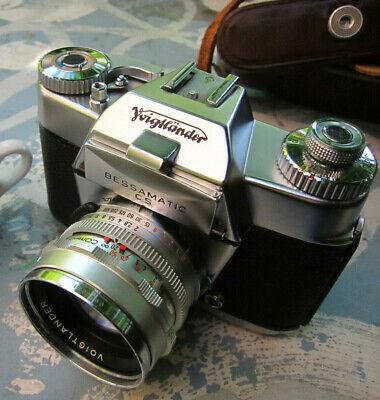 Appareil Photo Voigtlander Bessamatic CS + Objectif Septon 50 mm