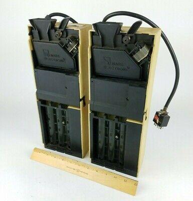 2x Mars Coin Mech Changer Mc-5010 Mc5010 Vending Machine Soda 24v For Parts