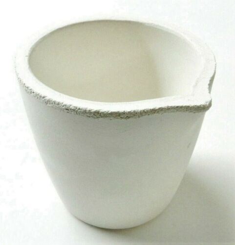 Melting Crucible for Gold & Silver Silica Ceramic Cup Crucible Casting Jewelry