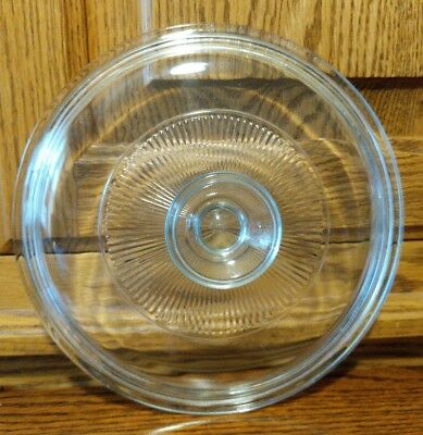 Pyrex Replacement Round Clear Glass Lid for Corning Ware Casserole 13 G5C 06