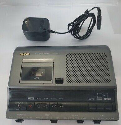 Sanyo Trc-6030 Micro Cassette Transcribing System Memo-scriber