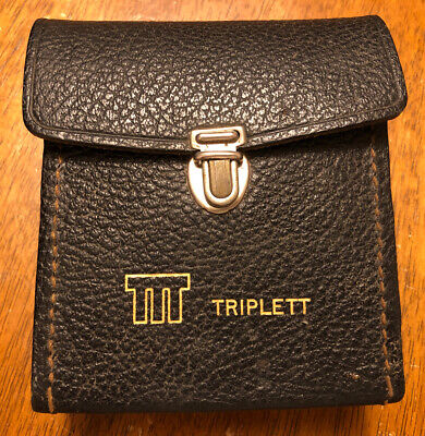 Triplett 310-c Analog Multimeter W Case Manual Vom Type 3 Suspension Volts Ohms