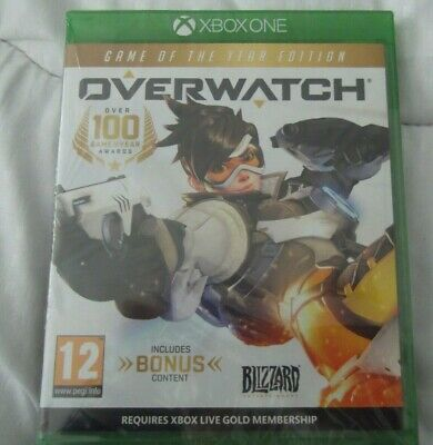 Overwatch Game of the Year Edition Xbox One New Sealed