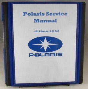 Service Manual for 2013 Polaris Ranger 800 6x6