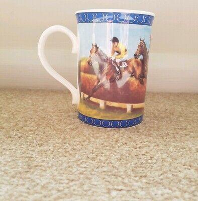 Fine Bone China Mint (Arkle Racing Legends Mug Fine Bone China Danbury mint Horses Riding  equestrian )
