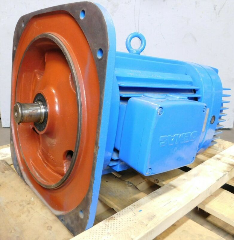 DEMAG 32HP, 1165 RPM, Type KBH 3-Phase Motor, 200 B6 Frame - NEW Surplus!