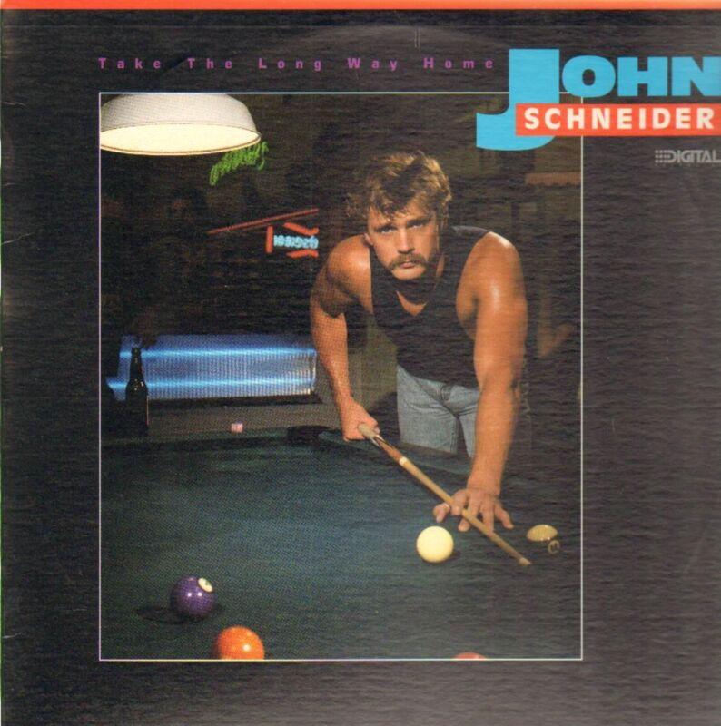 John Schneider - Take the Long Way Home - LP