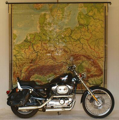 Old Schulwandkarte Wall Map German Rich Germany 226x205cm Vintage 1941