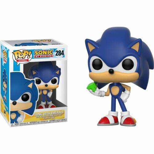 Funko POP! Games Sonic The Hedgehog Sonic with Emerald 284 -