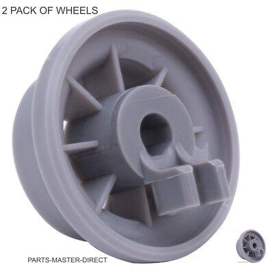 Genuino Bosch Hotpoint Whirlpool Cesto Inferior Lavavajillas Rueda 165314 2 Pack