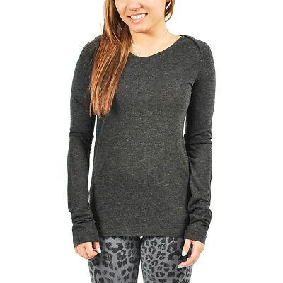 Womens PUMA x HUSSEIN CHALAYAN UM Long Sleeve Tee Shirt Dark Grey XL $65