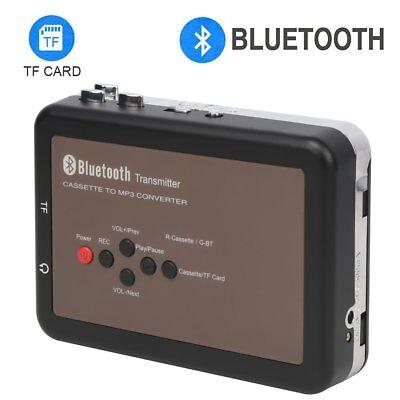 DIGITNOW! Portable Digital Bluetooth Tape Cassette Player Tape to Mp3 Converter