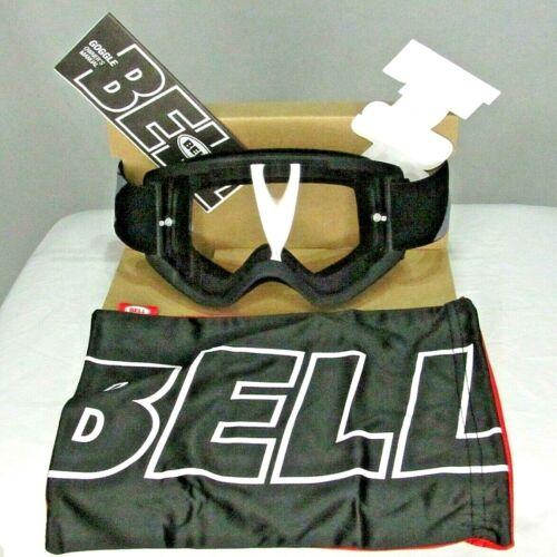 NIB NEW BELL Descender Matte Black and Gray Mountain Bike Goggles