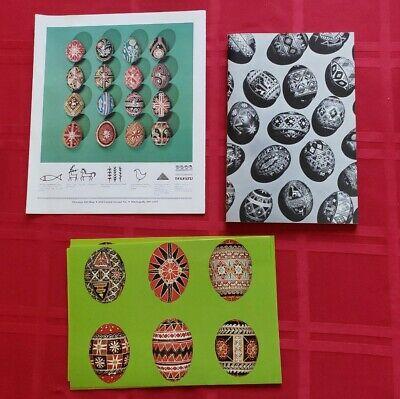 Ukranian Easter Egg Decorating Kit 2 Sets Create Beautiful Eggs Surma Vtg