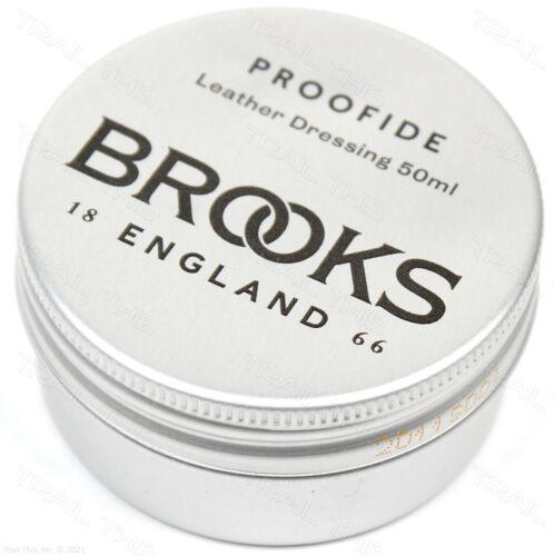 Brooks England Proofide 50ml Leather Bike Saddle / Seat Care Dressing 50g