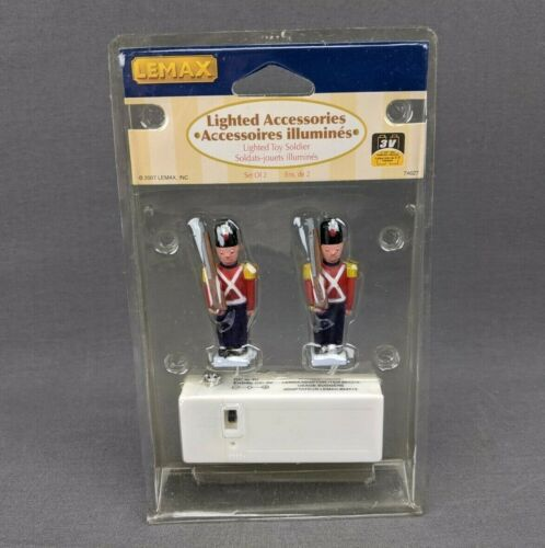 Lemax Christmas Collection Lighted Toy Soldier 74627 Retired