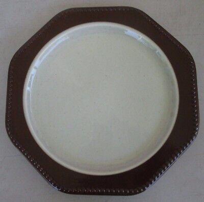 Heritage Designs Amber Mist Rim Dinner Plate  Mist Rim