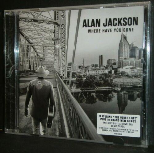 CD - ALAN JACKSON - Where Have You Gone + digital download bonus track