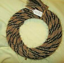 """Mane Horse Hair Mecate 22 feet 1//2/"""" diameter N13"""