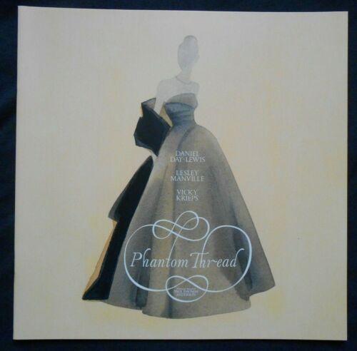 Phantom Thread Press Kit Booklet FYC - Paul Thomas Anderson, Daniel Day Lewis
