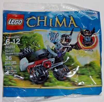 LEGO new sealed PROMO POLYBAG Baggie 30254 LEGEND CHIMA Razcal's Double-Crosser