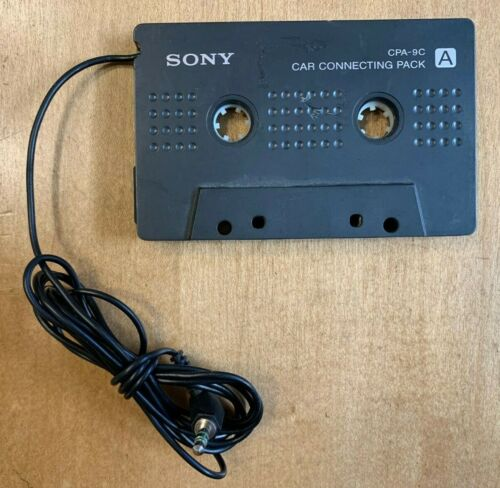 Sony (CPA-9C) - Cassette Player to Headphone Jack Adapter