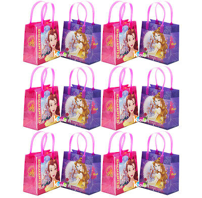 12PCS Disney Princess Bella Belle Beauty and Beast GOODIE BAGS PARTY FAVOR GIFT