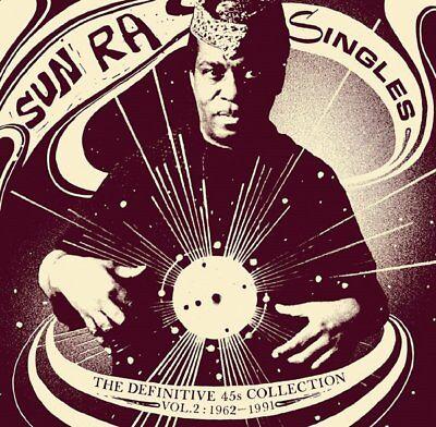 New! Sun Ra - The Definitive 45s Collection Vol. 2 1962-1991 - Triple LP Vinyl