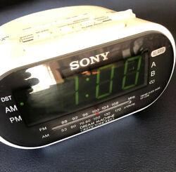 SONY dream machine clock radio White Electric Desk Table