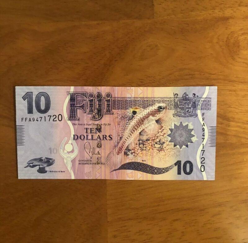 Fiji 10 Dollars ND 2013 P-116> UNC