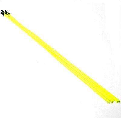RC Receptor Cable de Antena Tubo Protector Con cap x5 Amarillo Fluorescente...