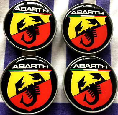 abarth wheel centres for sale  Shipping to Ireland
