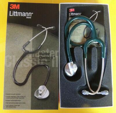 2632 3m Littmann Master Classic Ii Stethoscope Hunter Green Littman 27