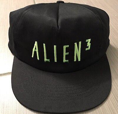 Vintage New 1992 Alien 3 Official Movie Merch Hat Snapback RARE