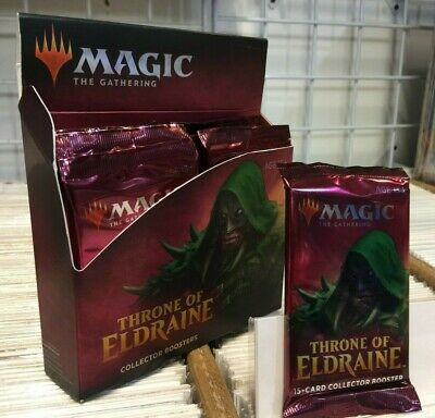 MTG - Throne of ELDRAINE COLLECTOR BOOSTER Factory Sealed NEW