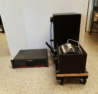 Vibration Test Systems Vg100-6 100lbf Peak Shaker Headvacuum Crown Ce2000 Br
