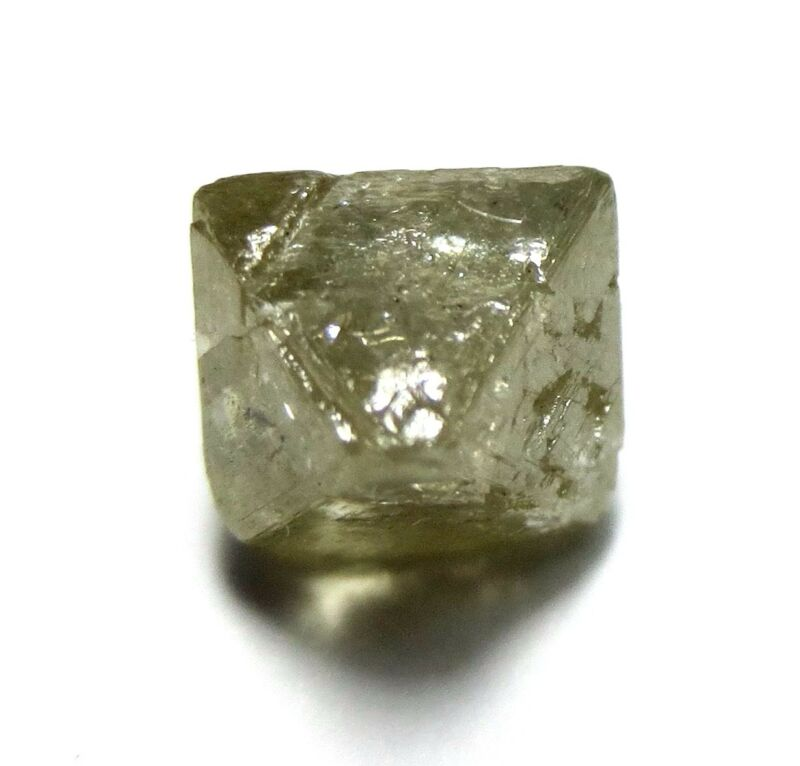 2.39 Carats Unique Uncut Gemmy Raw Rough Diamond Octahedron