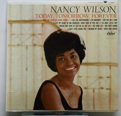 Today Tomorrow Forever   Nancy Wilson    Vinyl  Capitol  T 2082  1964  Mono