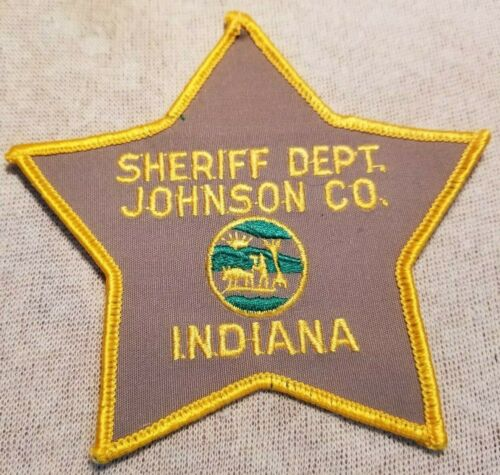 IN Johnson County Indiana Sheriff Patch