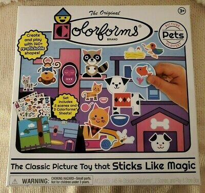 Colorforms 'CLING' Picture Play Set: Pets [New Toy] Toy, Arts & Crafts WHOLESALE