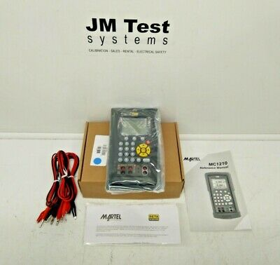Martel Multi-function Calibrator Mc-1210 Panel Mount New Inv