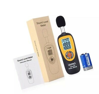 Urpro Decibel Meter Digital Sound Level Meter 30-130 Db Audio Noise Measure ...