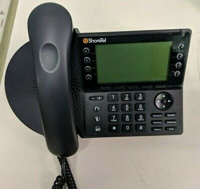 Shoretel Ip480 Voip 8-line Business Office Conference Phone With Stand