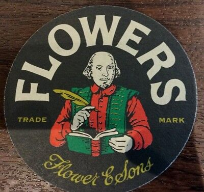 Flowers Beer Mat x 3 different