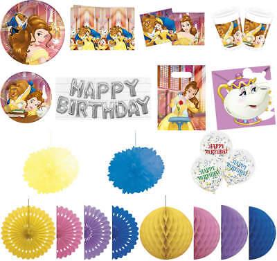 Kindergeburtstag Geburtstag Party Fete Motto Die Schöne und das Biest ()
