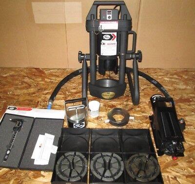 New Gates Mobilecrimp 4-20 Adjustable Hydraulic Hose Crimper Wair Pump 3 Dies