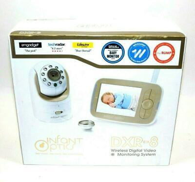 "Infant Optics DXR-8 Pan/Tilt/Zoom 3.5"" Video Baby Monitor USED"