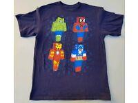 4 Colours Lego Marvel /'Ant-Man/' Childs T-Shirt Sizes 1-11 Yrs