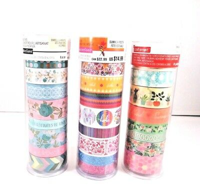 Recollections and Craft smart Crafting Washi Glitter Foil Tape Retail: $14.99ea (Wholesale Washi Tape)